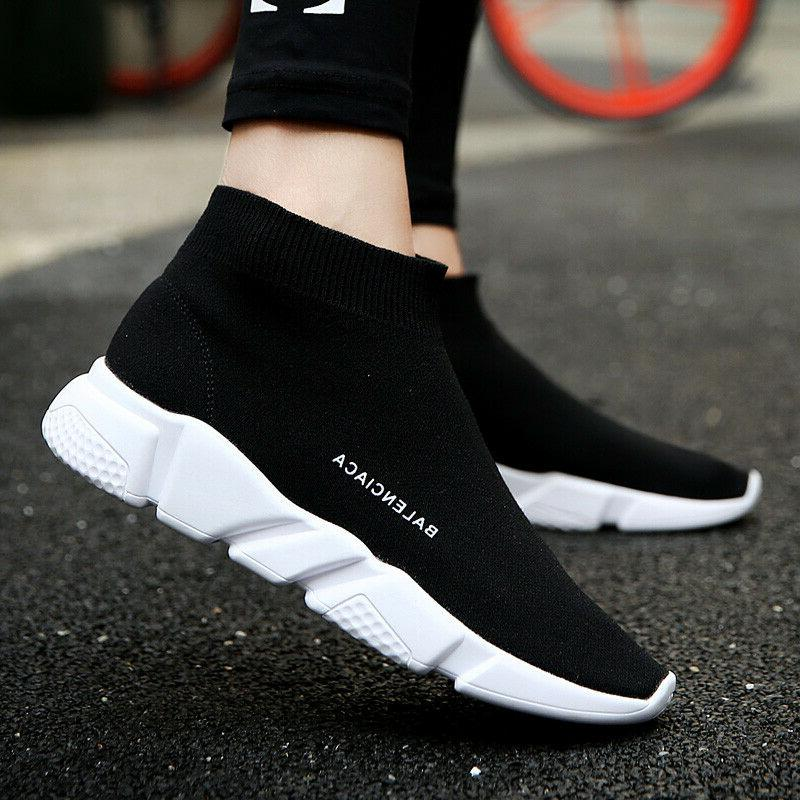 Women's Sneakers Casual Socks Shoes Lightweight Sport Walkin