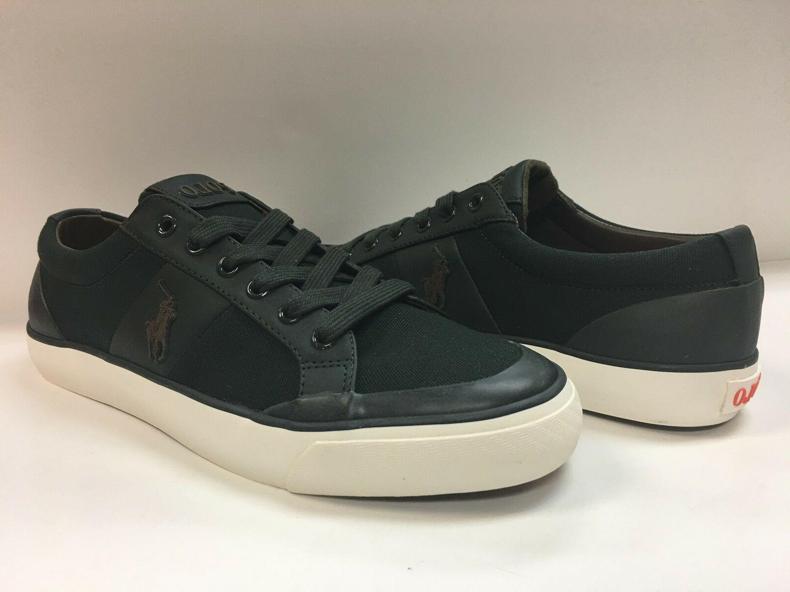 Polo Ralph Lauren Men's Ian Canvas Fashion Sneakers.