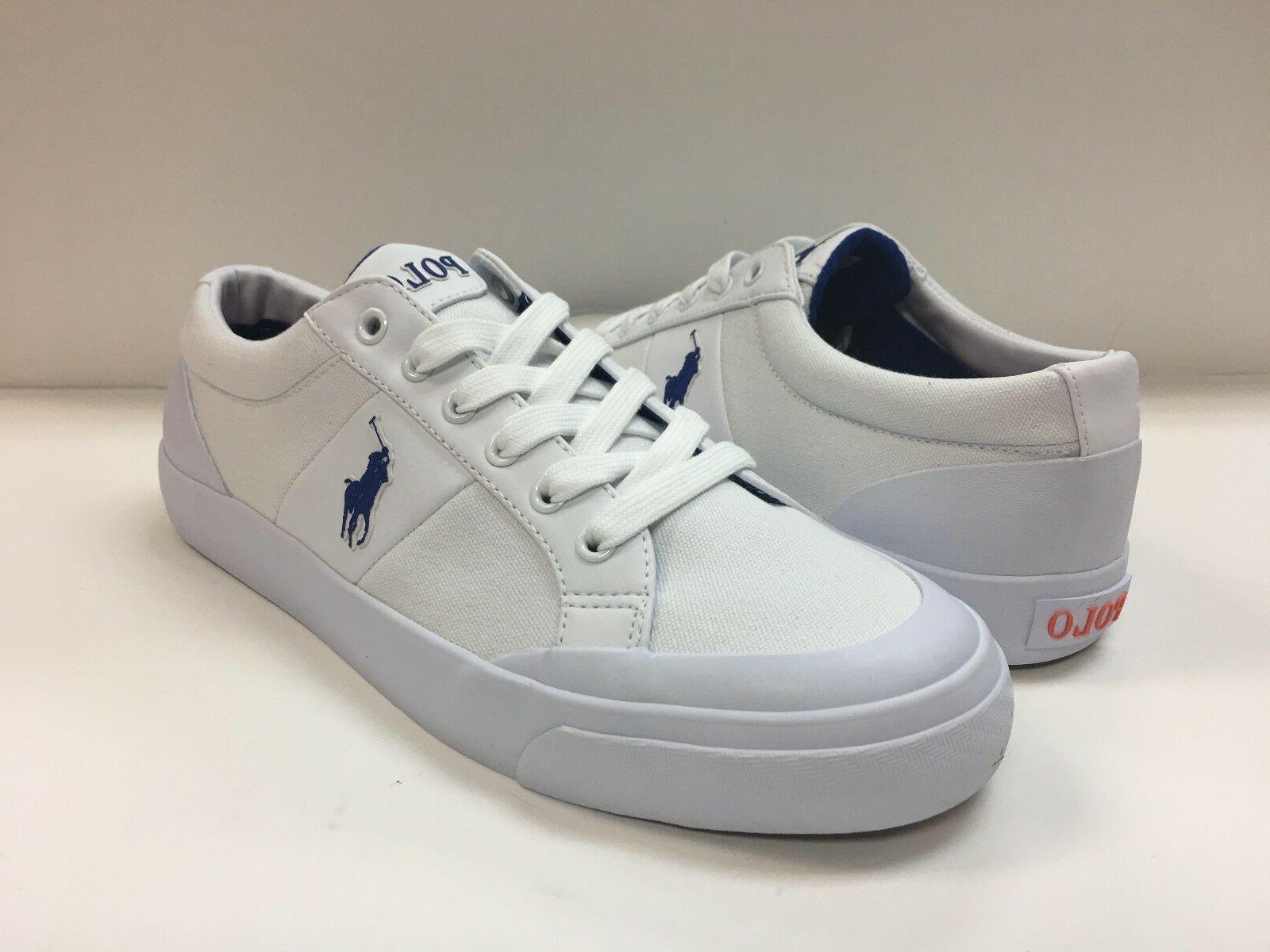 Polo Ralph Lauren Men's Ian Canvas Fashion Sneakers.