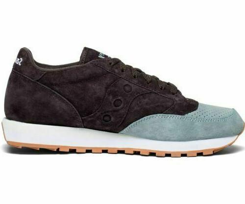 Saucony Men's Suede Low Trainer Sneakers