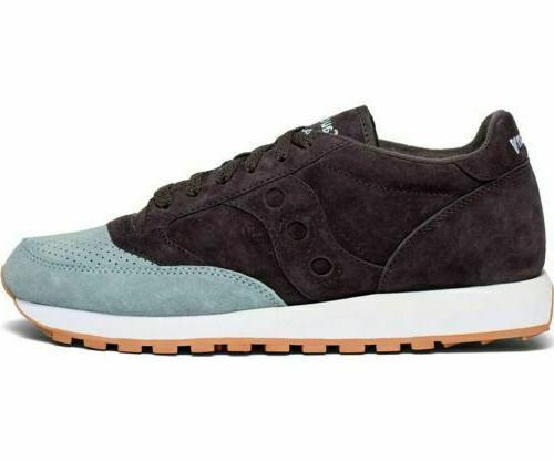 Saucony Jazz Suede Low Trainer Sneakers Navy/LT Blue