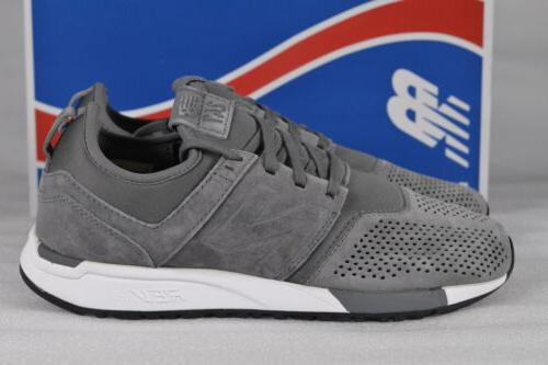 Men's New Balance Lifestyle Sneakers Grey/White