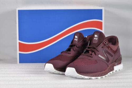 men s lifestyle sport sneakers maroon