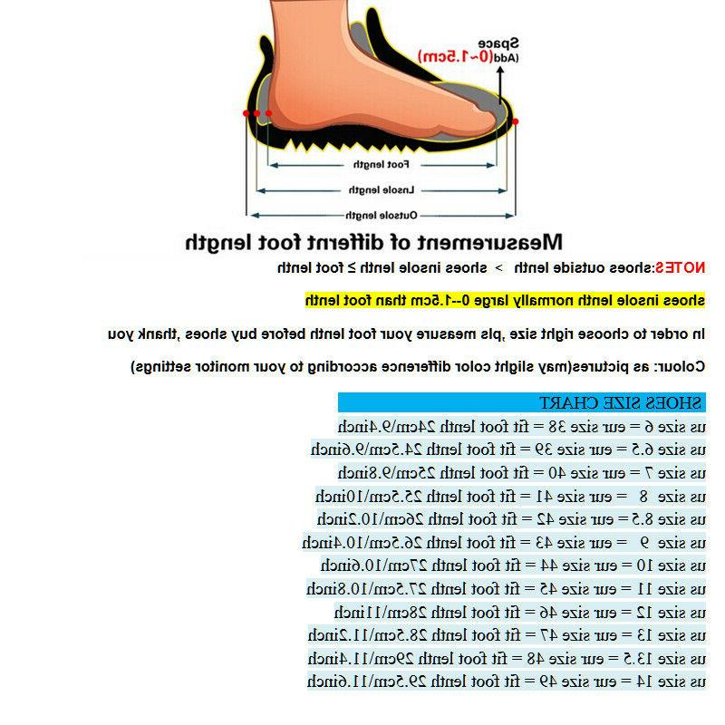 Men's Walking Trainers Sneakers Breathable Fitness Shoes