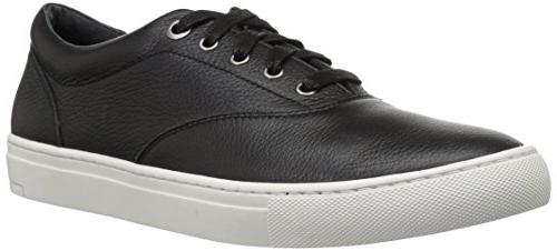 Casual Lace-Up Black Leather 8.5