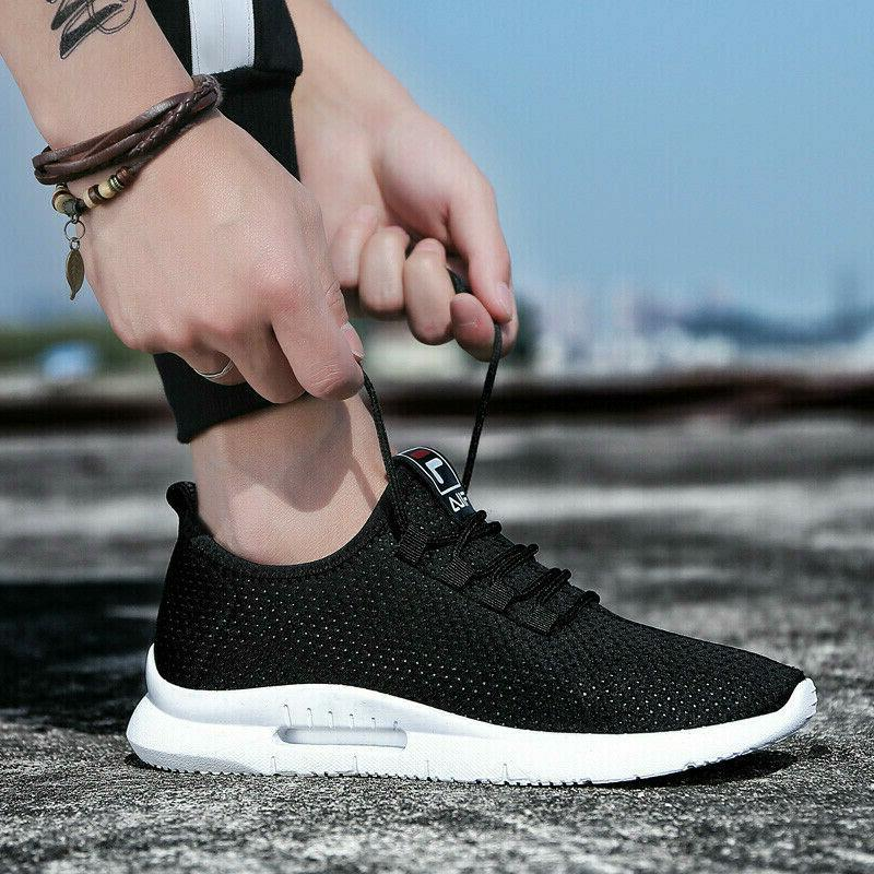 Men's Running Breathable Tennis Shoes Sports Athletic