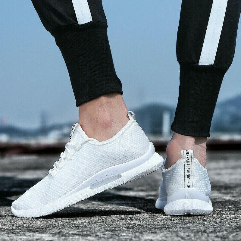 Men's Breathable Tennis Shoes Athletic