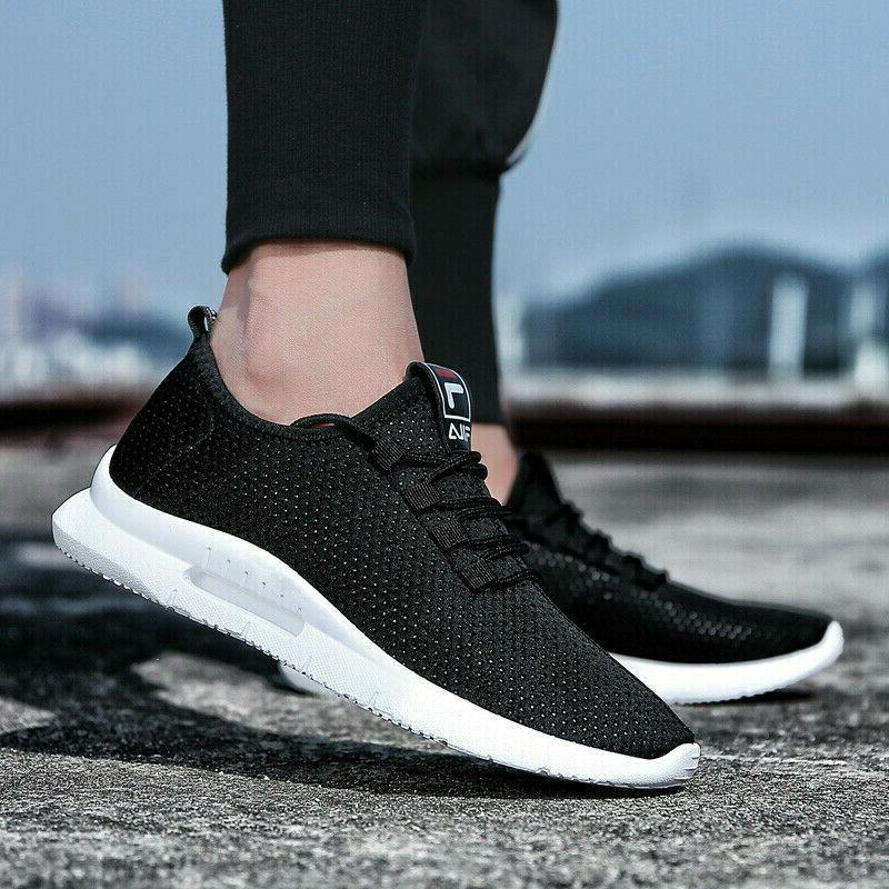Men's Running Breathable Shoes Sports Walking Casual Athletic