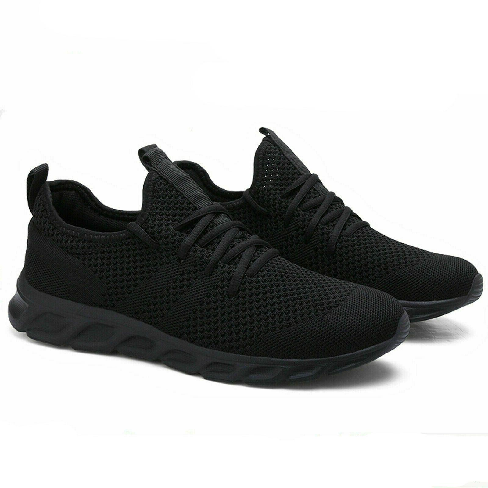 men s running breathable tennis shoes sports