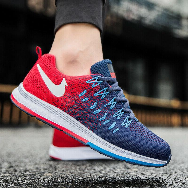 Men's Breathable Shoes Sports Athletic US