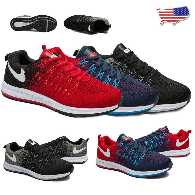 men s running tennis breathable shoes sports