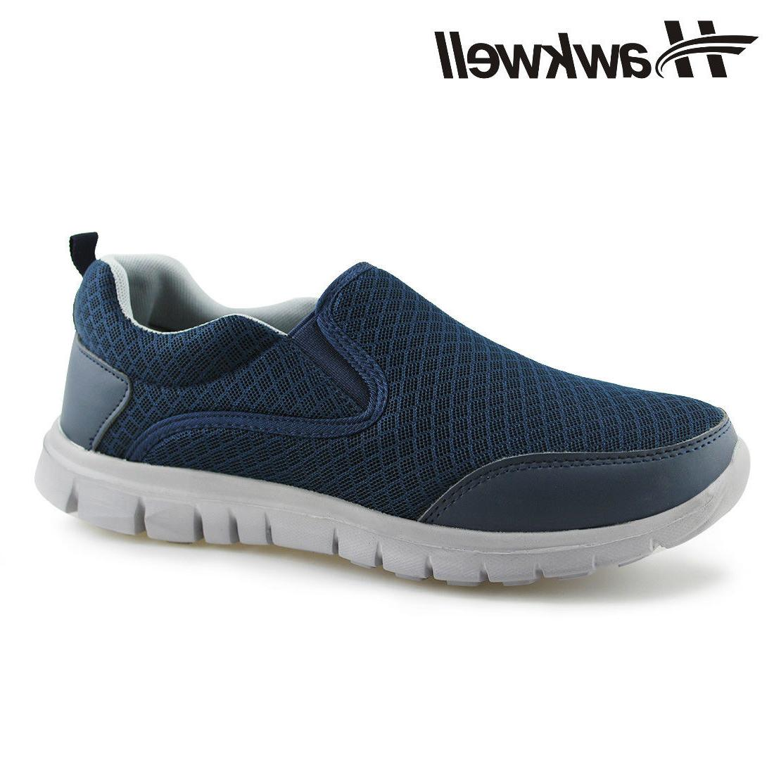 Men's Casual Shoes Slip-On Comfort Mesh Sneakers
