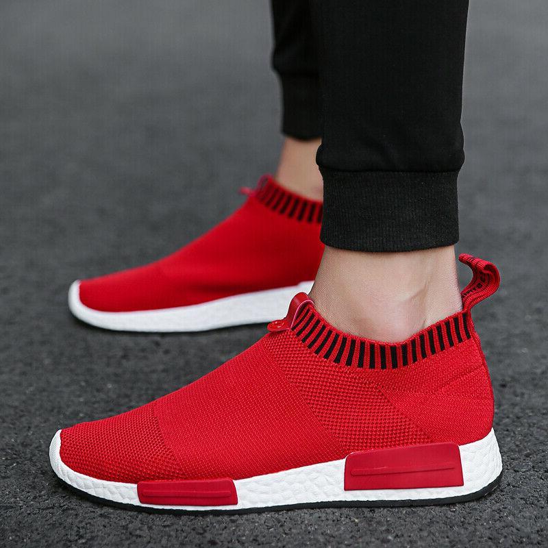 Men's Slip-On Sneakers Lightweight Walking