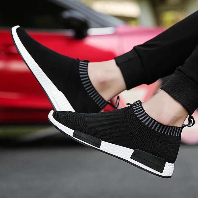 Men's Slip-On Lightweight Walking Shoes