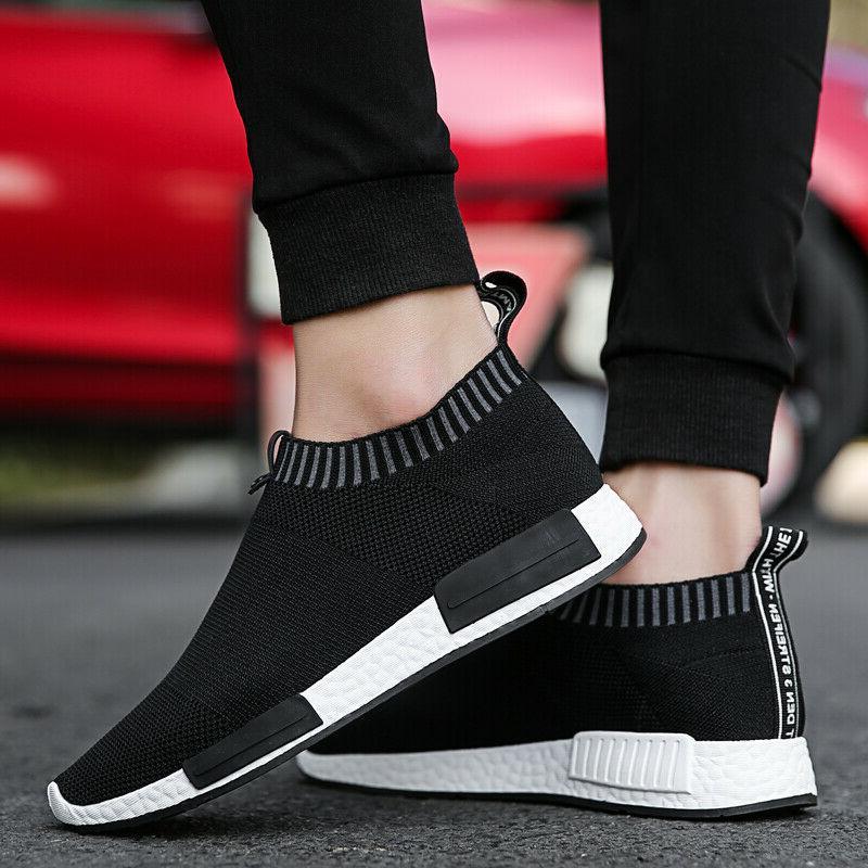 Men's Slip-On Sneakers Lightweight Athletic Walking