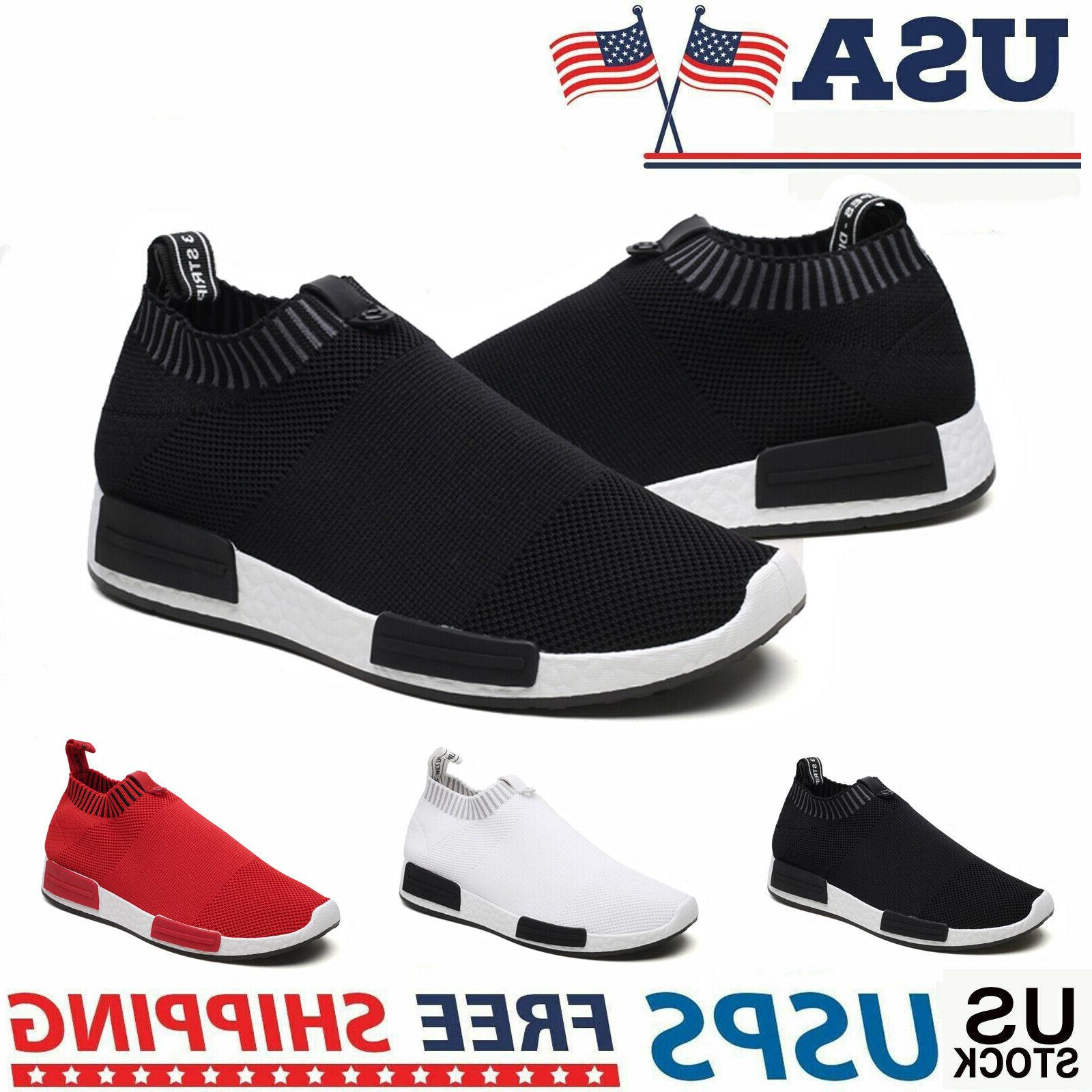 men s slip on sneakers fashion lightweight