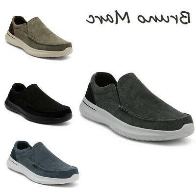 men s slip on sneakers walking loafers