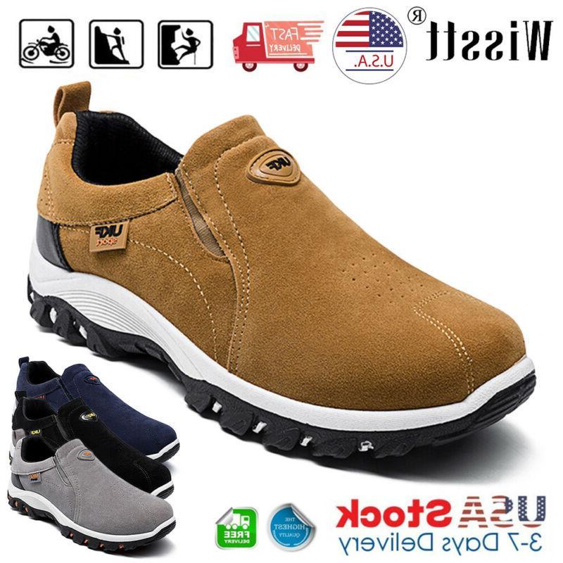 men s slip on sports outdoor sneakers