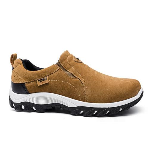 Men's Slip On Outdoor Running Walking Hiking Shoes