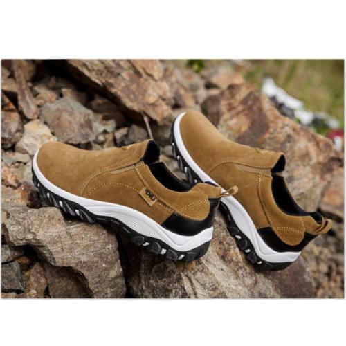 Men's Slip On Sports Outdoor Sneakers Running Hiking