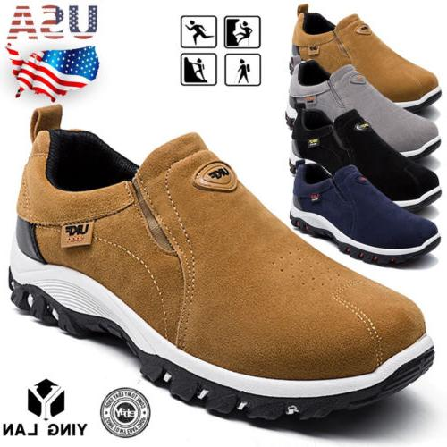 men s slip on sports outdoor sneakers