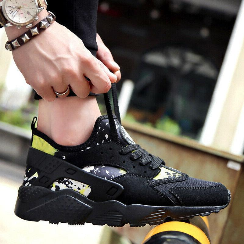 Men's Sneakers Running Lace Sport Tennis Shoes