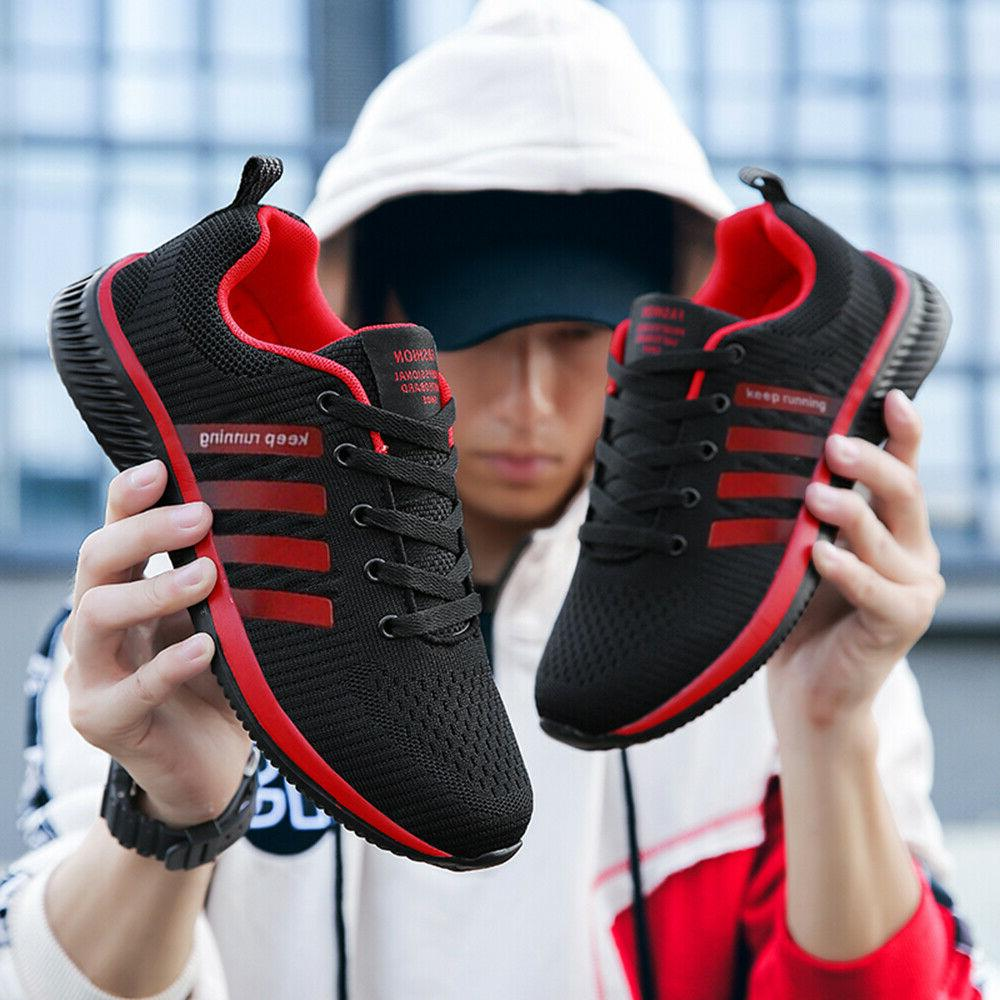 Men's Sneakers Breathable Tennis Athletic Shoes