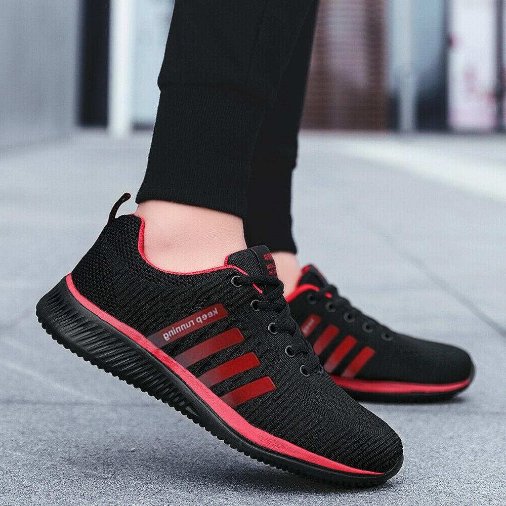 Men's Sneakers Tennis Walking Shoes US