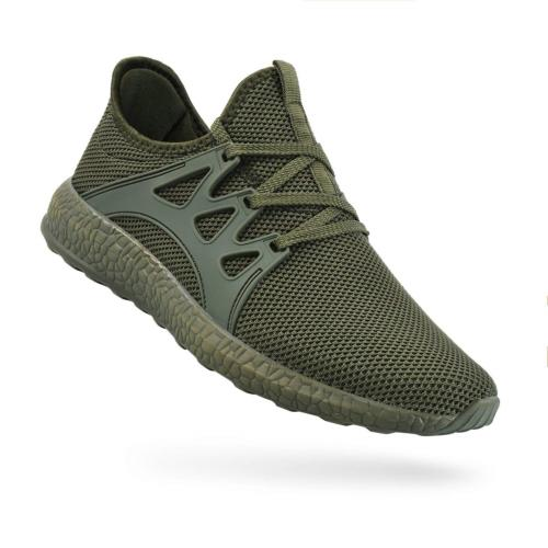 QANSI Men's Sneakers Mesh Ultra Lightweight Breathable Athle