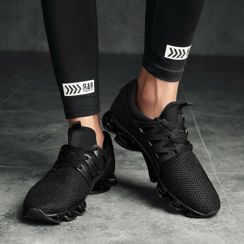 Men Spring Big Size Running Sneakers Anti-slip Breath Outdoo