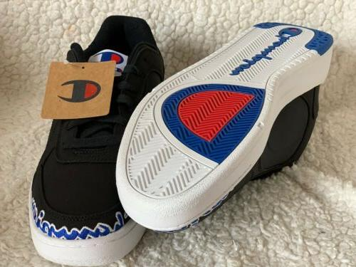 Champion Court Low Shoes, Black Style