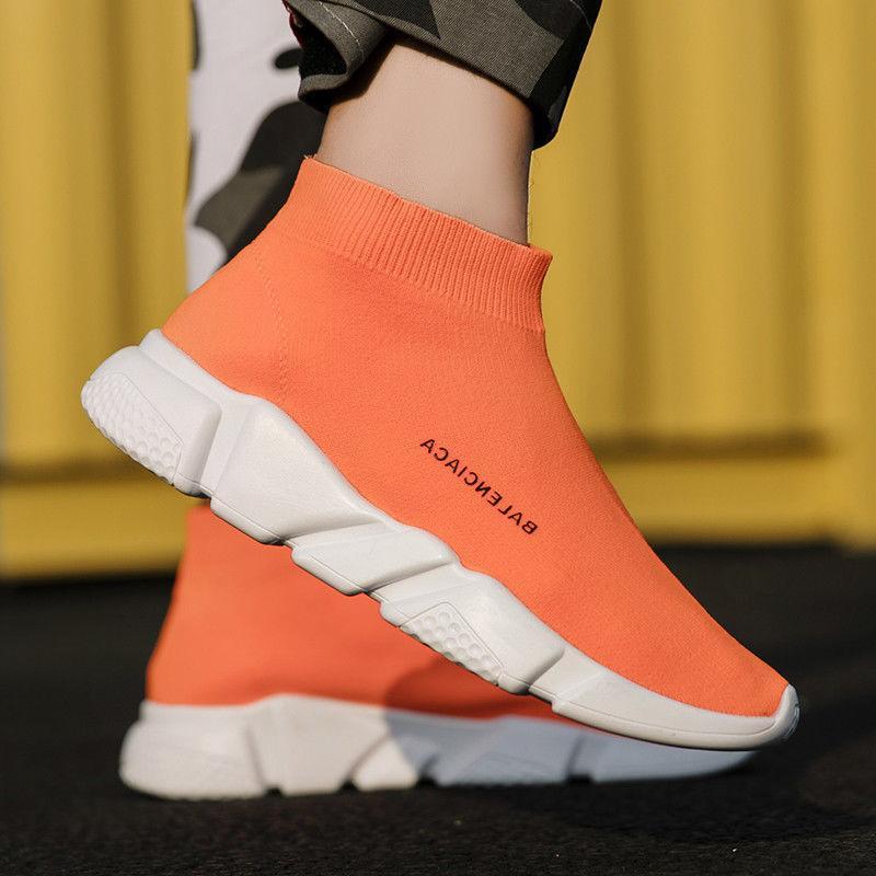 Women Ultralight Fly-Knit Socks Shoes Casual Sports Sneakers