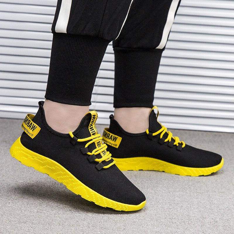 Men Running White <font><b>Sneakers</b></font> Breathable Outdoor <font><b>Athletic</b></font> Male Shoe Deportiva