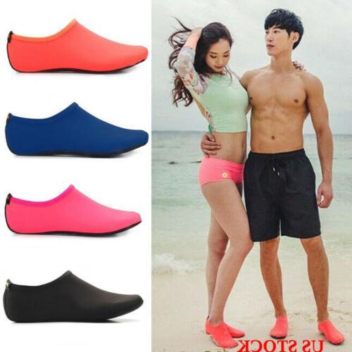 men women surfing slippers sneakers swimming water