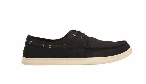TOMS MENS Culver Washed Linen Sneakers US