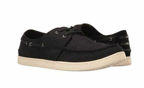 mens culver black washed linen sneakers us