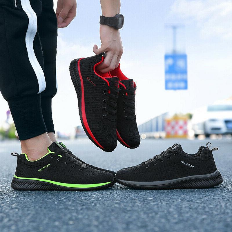 Men's Walking Running 10 Gym Athletic Casual Sneakers