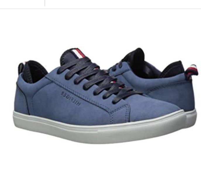 Tommy Hilfiger Men's Fashion Sneakers Shoes, Medium Blue,