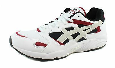 mens gel diablo white running casual sneaker