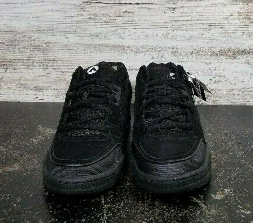 Mens Airwalk Skateboarding Shoes 9.5 Black Suede Read