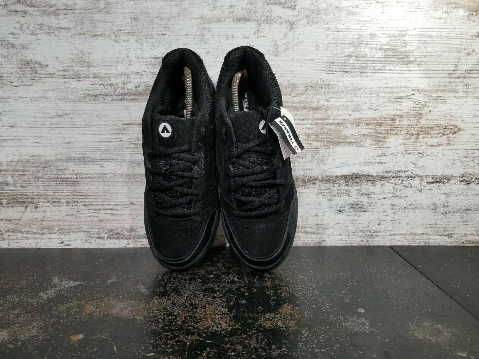 Mens Airwalk Shoes SZ Black Suede New Other Read