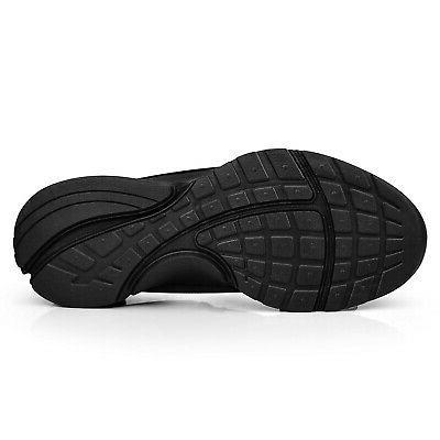 QANSI Mens Tennis Black 9.5 M US New