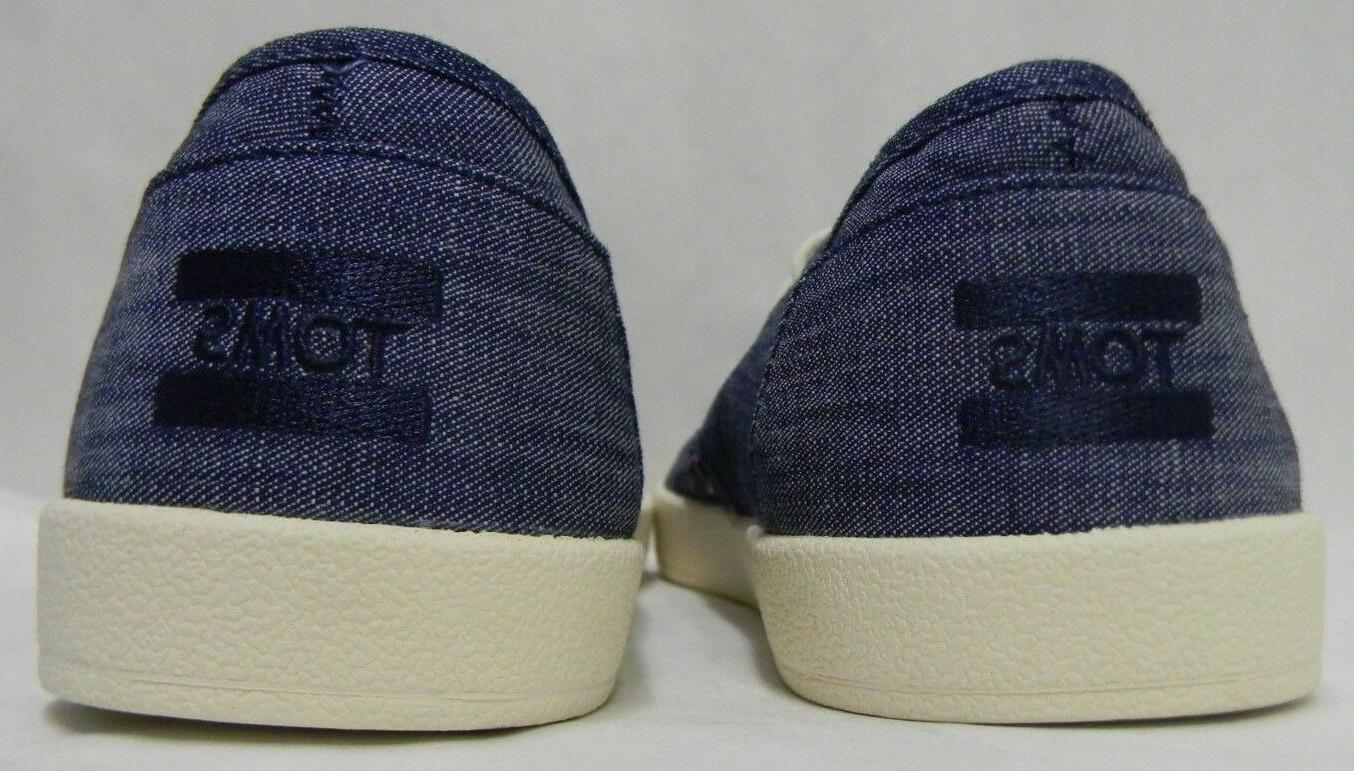 Toms Mens Sneakers Canvas Light Blue Choose in