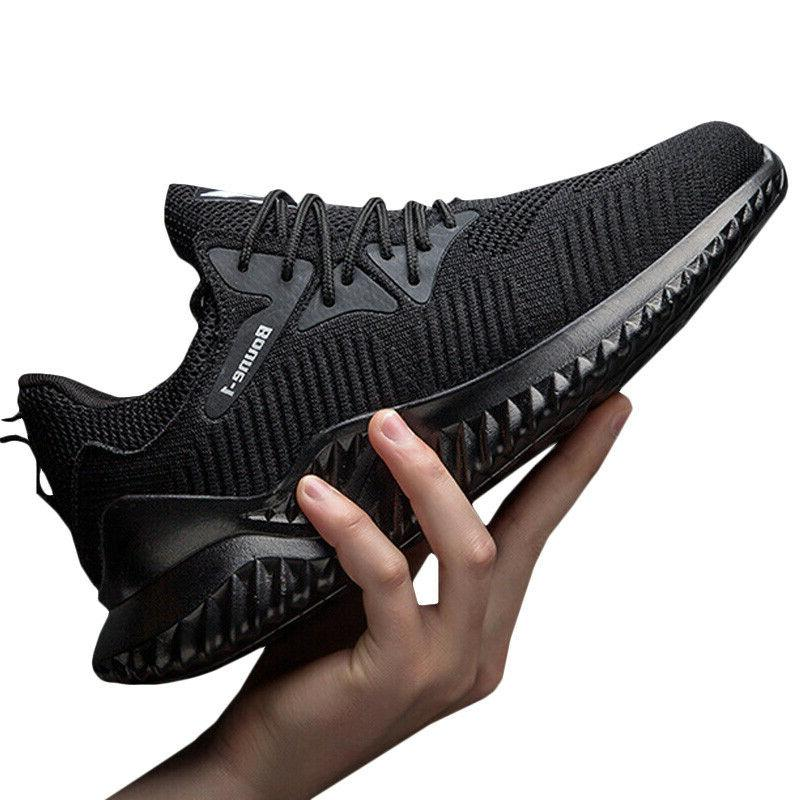 Mens Fitness Sneakers Lace Breathable