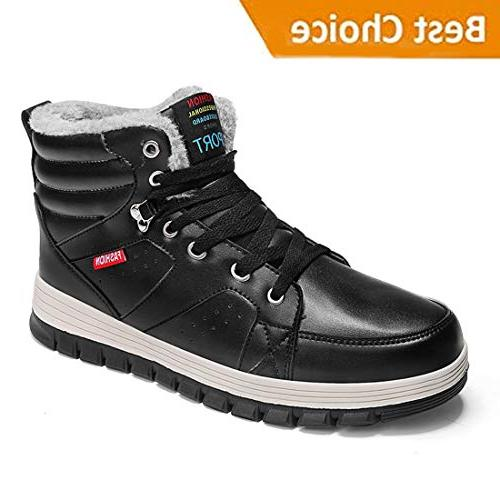 mens winter ankle sneaker boots mens snow
