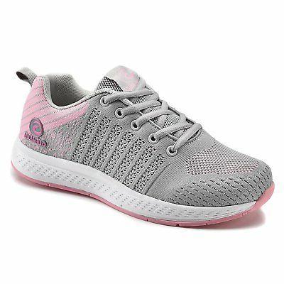 GUBARUN Mesh Running Shoes Women Lightweight Casual Lace up