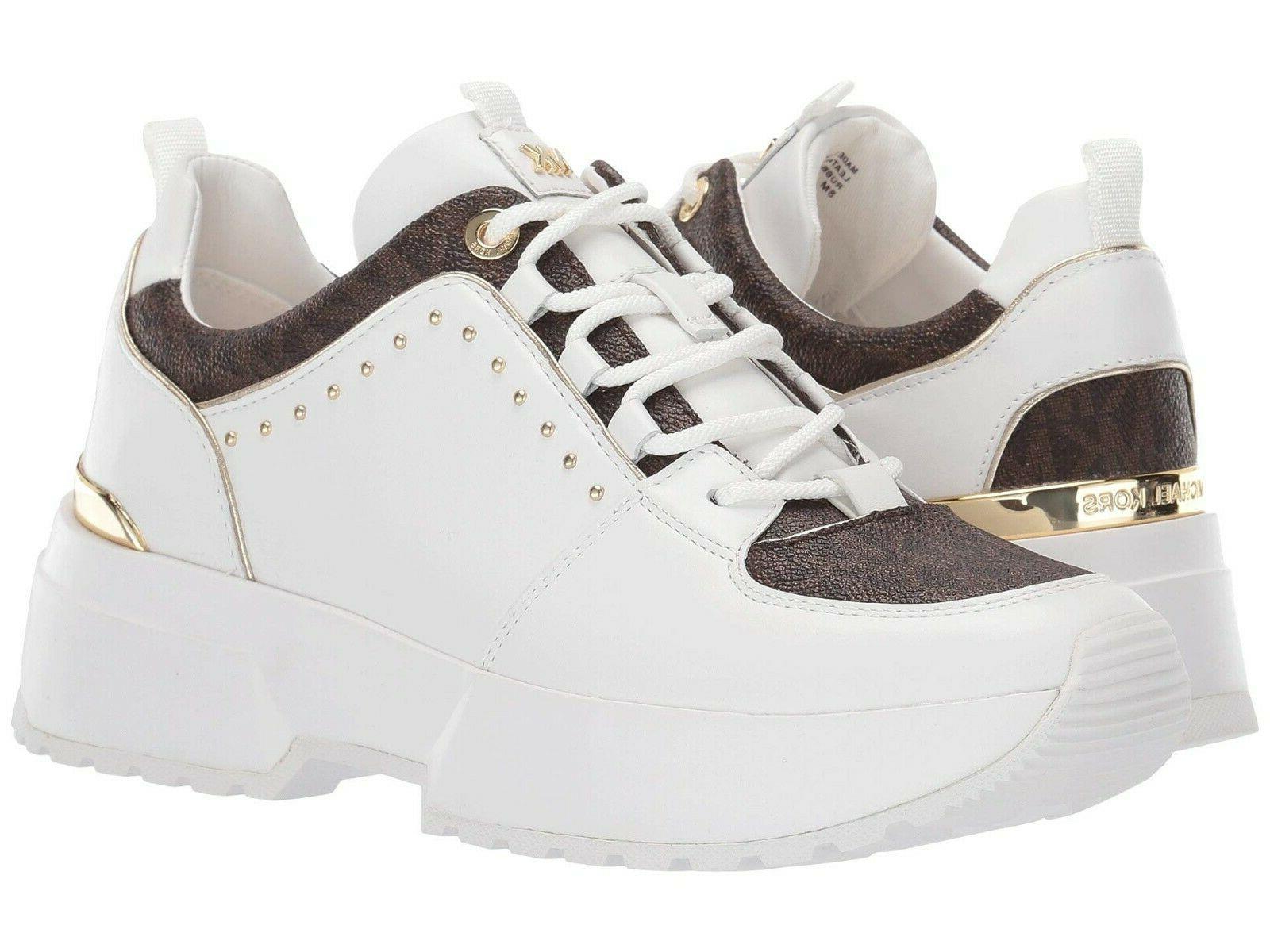MICHAEL Michael Kors Cosmo Trainer Wedge Sneakers Women's Ca