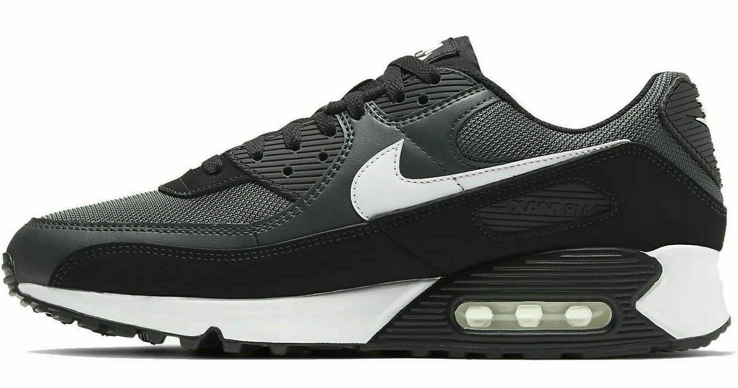 New Air Max 90 Athletic Sneakers Mens gray all sizes