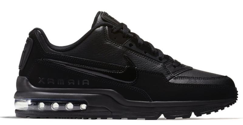 New NIKE LTD 3 sneakers 687977 Mens triple black