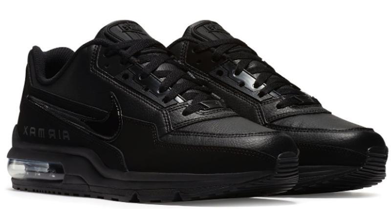 New NIKE LTD 3 sneakers 687977 triple black